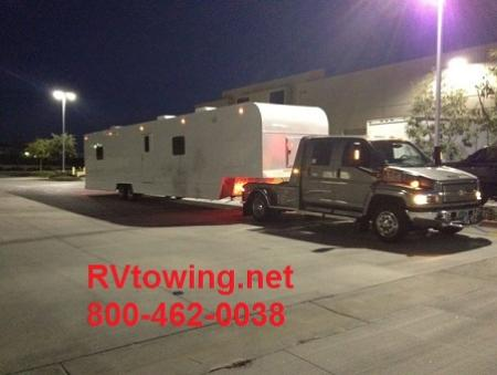 5th Wheel RV Towing